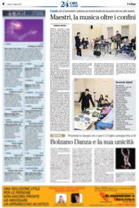 L'Adige - 24 Ore Eventi - Maestri, la musica oltre i confini