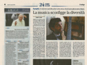 Musica Senza Confini - Manuele Maestri - La musica sconfigge la diversita